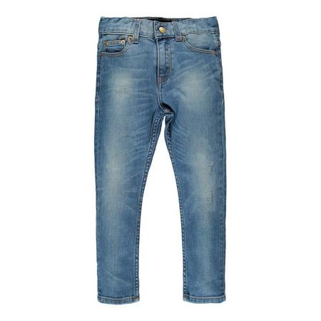 Kids Finger In The Nose Ewan 5 Pocket Comfort Fit Jeans - Light Dirty Blue