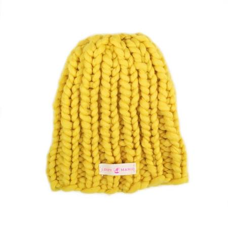 Kids Loopy Mango Mini Beanie - Sunshine