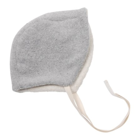 Kids Makié Newborn Bonnet - Grey/Cream