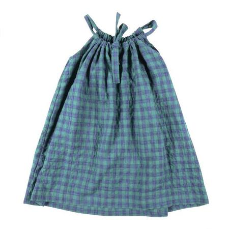 KIDS Makié Sundress Faith - Green Check