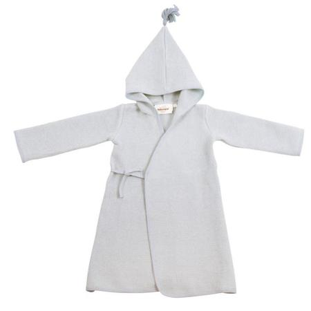 KIDS Moutmout Paris Pepin Little Bathrobe - Honeycomb Ciel