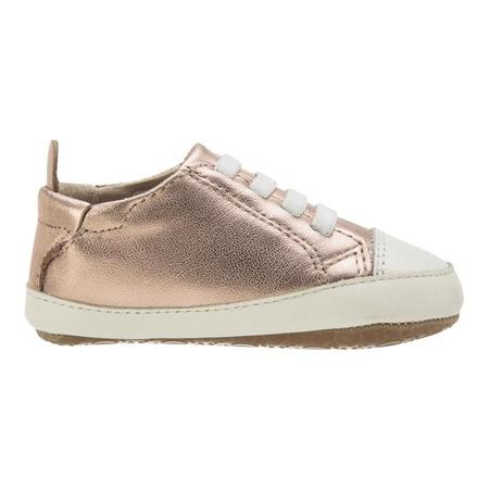 KIDS Old Soles Eazy Jogger - Copper/White