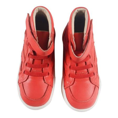 Kids Old Soles Star Jumper Shoe - Bright Red