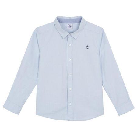 KIDS Petit Bateau Dress Shirt - Blue