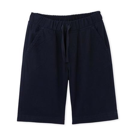 KIDS Petit Bateau Flou Bermuda Shorts - Smoking Blue