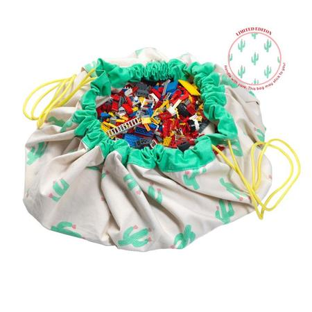 Kids Play & Go Toy Storage Bag - Cactus Limited Edition