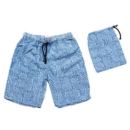 KIDS Sunchild Booby Swim Short Boxer Long - Sky Blue