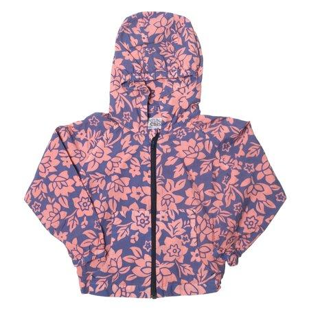 KIDS Sunchild Holbox Windbreaker - Flamingo Pink and Purple Floral
