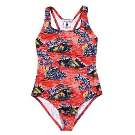KIDS Sunchild Mauii Swimsuit - Corail Tropical Print