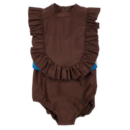 KIDS Tambere Swimsuit - Chocolate Brown