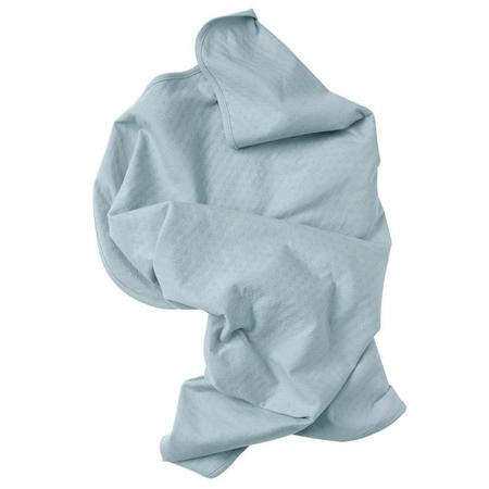 KIDS Tane Organics Essential Swaddle Blanket - Dew Blue