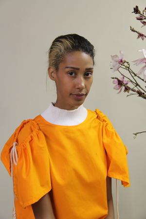Désiréeklein Corbet Twill Blouse - Orange
