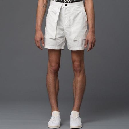 Carlos Campos Cargo Pocket Shorts - White