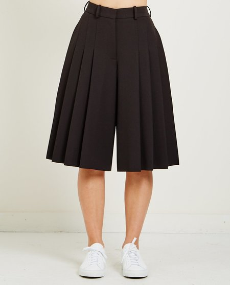 Carven STRETCH CREPE SHORT - BLACK