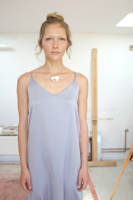 Colorant Silk Slip Dress