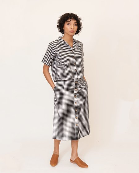 Beaumont Organic Susie-Lou Organic Cotton Skirt - Stripes