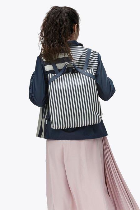 Unisex Rains LTD Shift Bag - Distorted Stripes