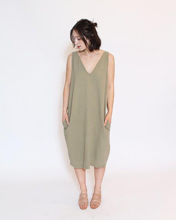 Multi Dress in Sage