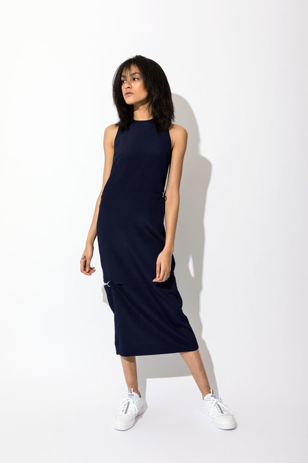 Nomia Pierced Tank Dress - MIDNIGHT