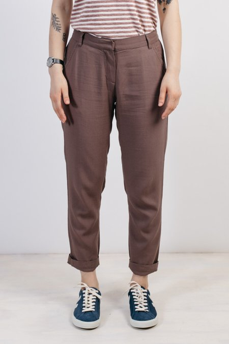 Bridge & Burn Council Trousers - Taupe
