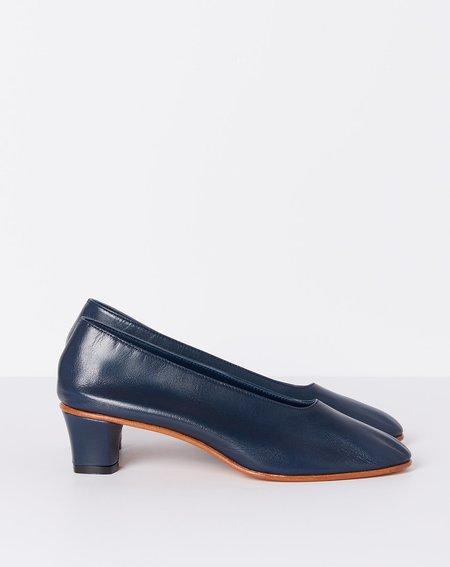 Martiniano Glove High Heels Shoe - Navy