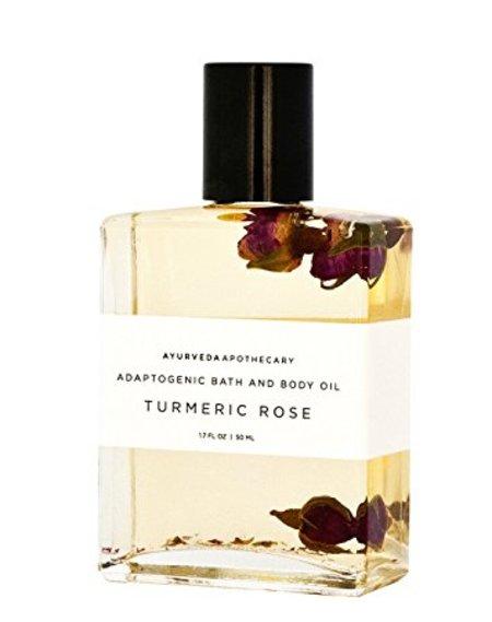 Yoke Tumeric Rose Adaptogenic Body Oil