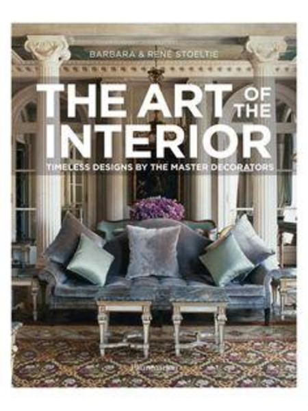 Rizzoli New York The Art of the Interior: Timeless Designs by the Master Decorators HARDCOVER BOOK