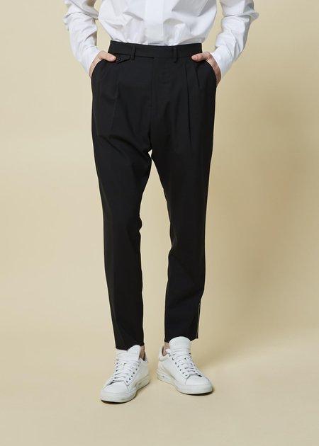 OAMC Joe Pleated Suit Pant - Dark Navy
