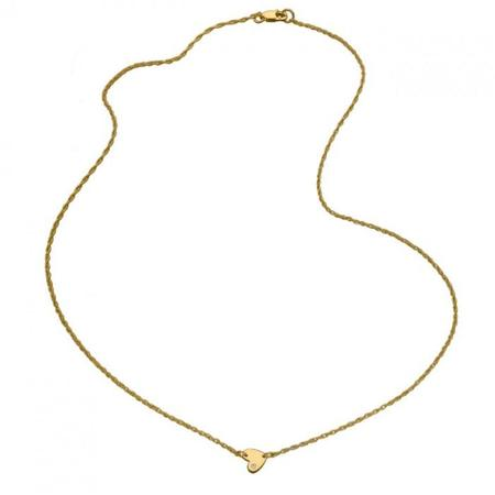 Jennifer Zeuner Mia Mini Necklace - GOLD VERMEIL