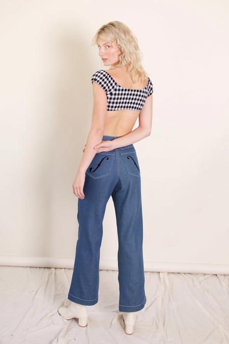 Samantha Pleet Cello Jeans