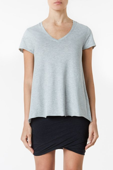 collective Relaxed V Neck - Grey