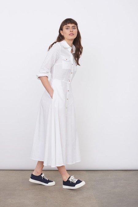 Oshadi Shirt Dress - White