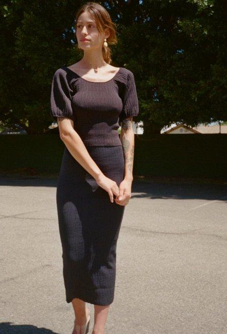 Simon Miller Marsing Skirt - Black