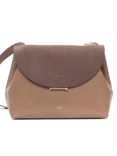 IMAGO-A Demi Lune Bag - Latte