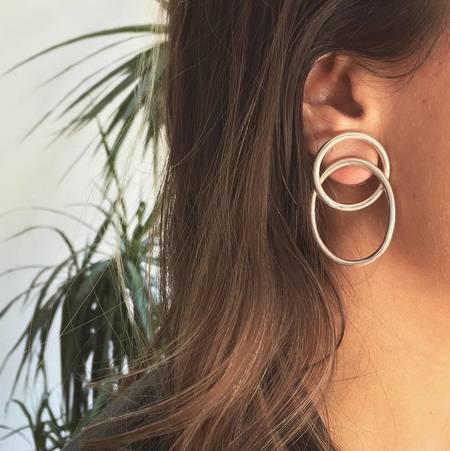 Gala Is Love Silver Edith Earrings