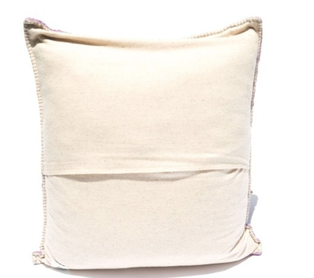 Mexchic X-large Floor Pillow in Boucle Cotorin Texture - Grey Wool