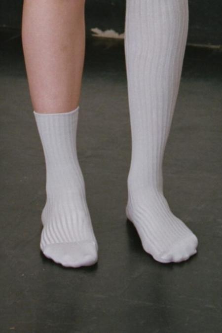 Baserange Over Ankle Sock - Silk Rib