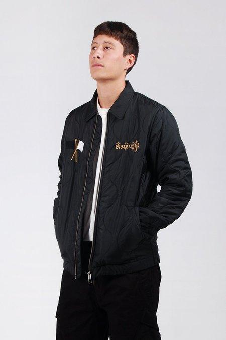Maharishi Spring Quilted Jacket - Black