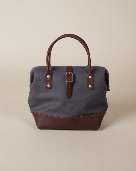 Wood&Faulk Sidecar Bag - Pewter