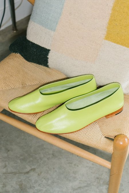 Martiniano Glove Flat Shoe - Grass