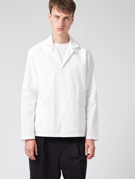 Studio Nicholson Cabrilla Shirt Blazer - White