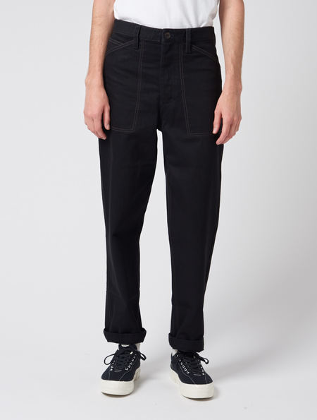 Lemaire Denim Summer Chino Pants - Black