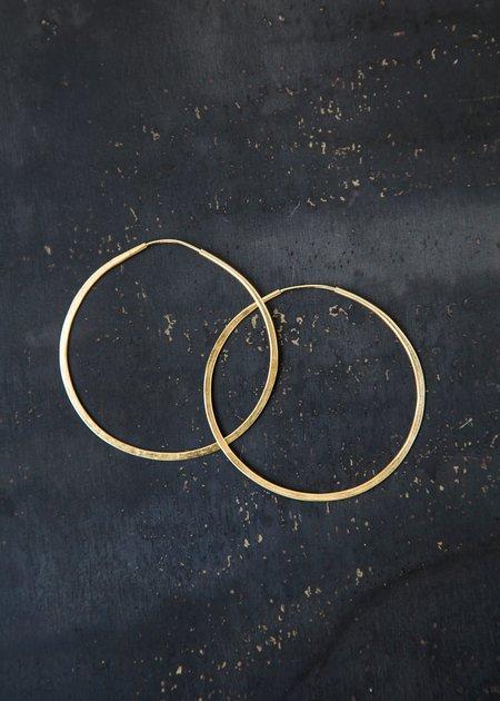 Takara Circle Hoops LARGE - Gold