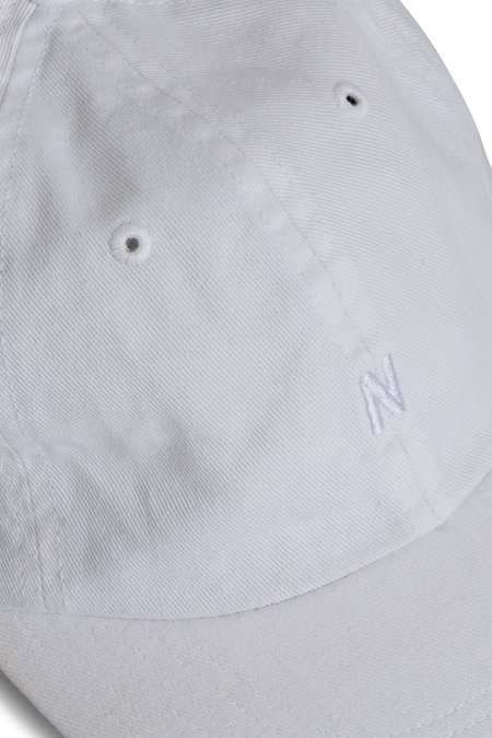 Norse Projects Light Twill Sports Cap - White