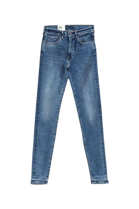 Levi's Made and Crafted Sliver High Skinny Jeans - Blue Mineral