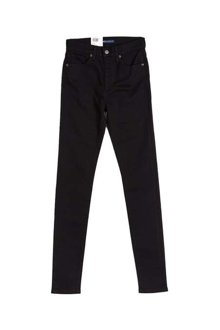 Levi's Made and Crafted Silver High Skinny Jeans - Black