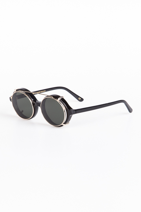 Han Kjobenhavn Doc Clip-On Sunglasses - Black