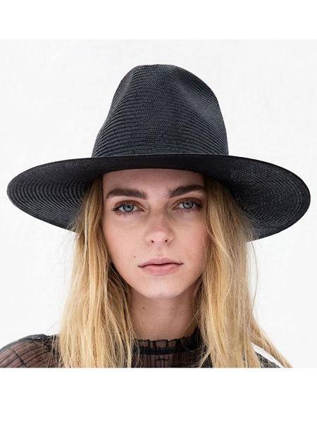 Janessa Leone Alexander Hat - Black