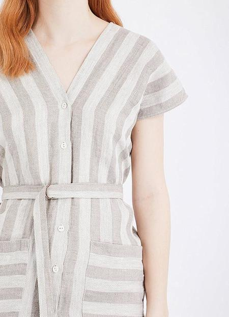 Study Kimono Dress - Taupe