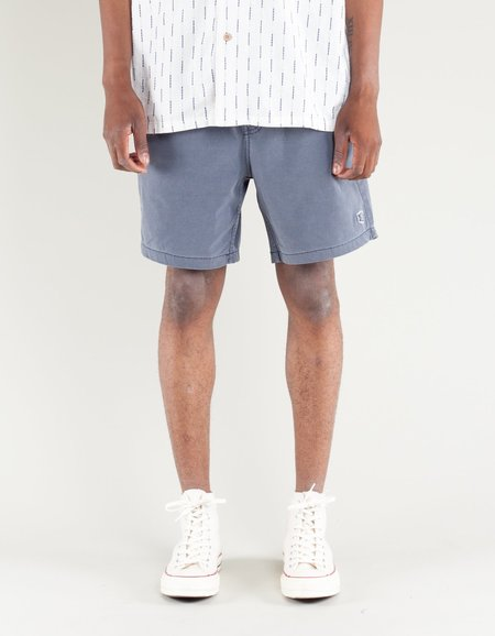 Deus Sandbar Solid Garment Dye Short - Indigo